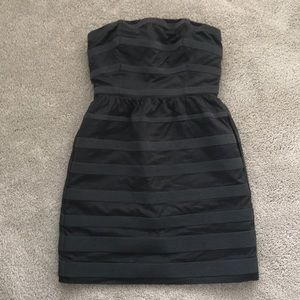 J Crew Women's Strapless Gray Dress 0 or 00 NWT
